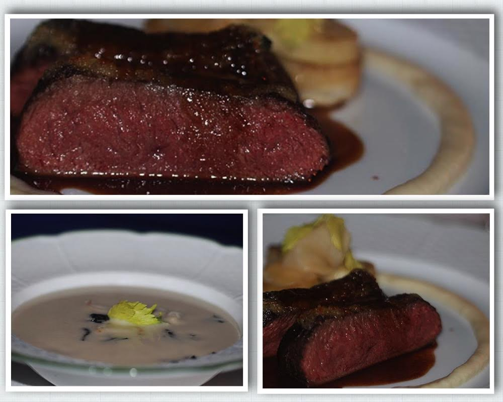 Main course at the Mirror Room