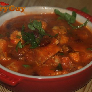 low fat chicken chilli