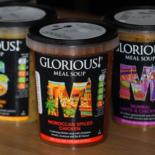 Glorious! Soups – Quick, Easy & Quite Tasty Too