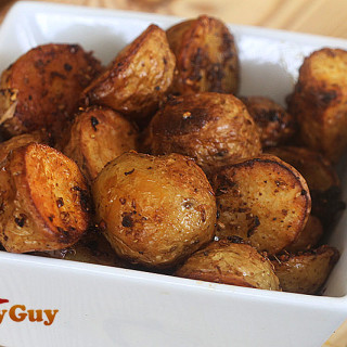 Spiced Roast New Potatoes