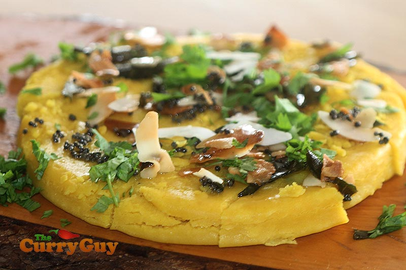 Dhokla recipes authentic indian food recipe the curry guy how to make dhoklas forumfinder Images