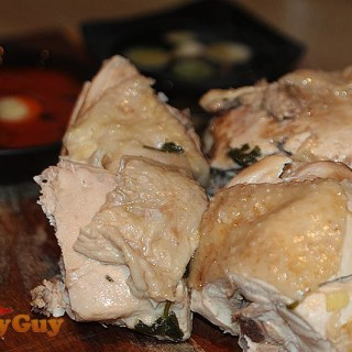 Chicken Served With Coconut Amino & Sesame Oil
