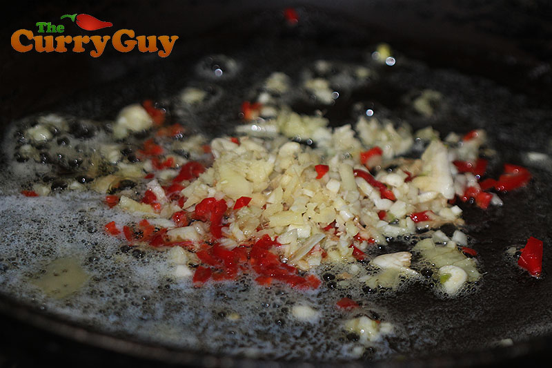 Spicy sweetcorn preparation