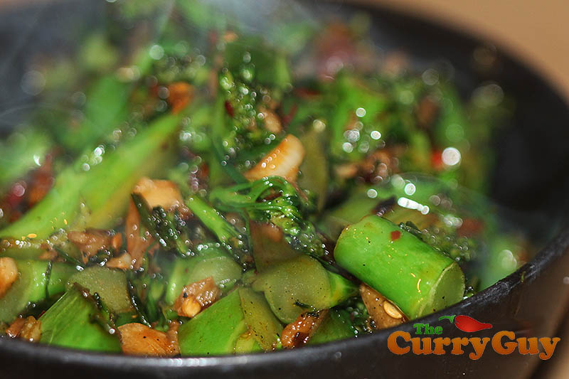 Indian Restaurant Style Spicy Broccoli The Curry Guy