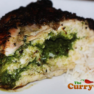 Chicken Stuffed With Coriander Pesto