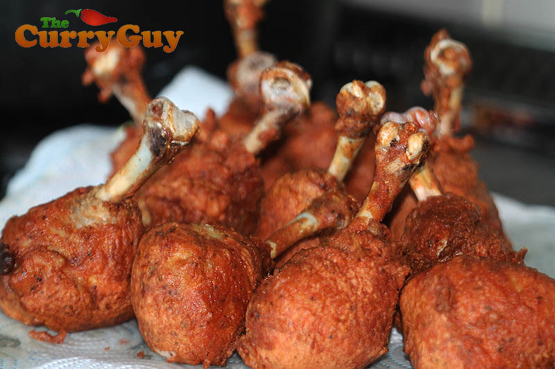 Indian Restaurant style chicken lollipops