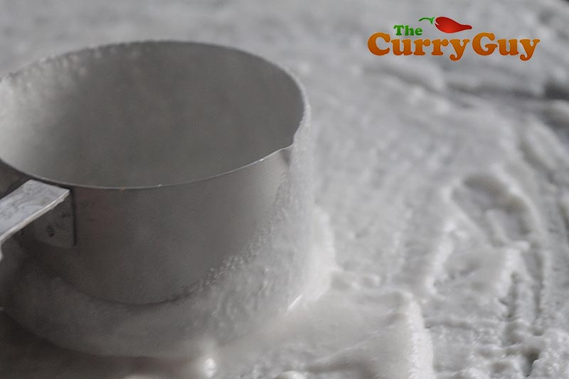 Making chorizo dosas