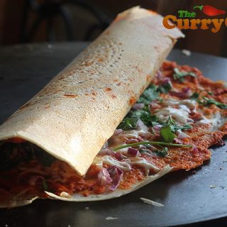 Vegetable dosa