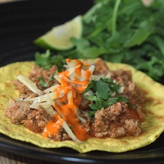 Pork Keema Vindaloo Wrap