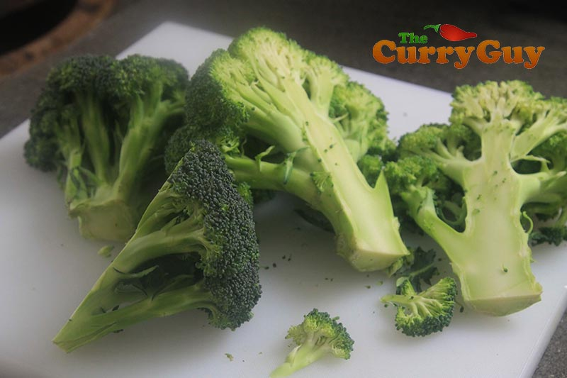 Making garlic & Mustard Roast Broccoli