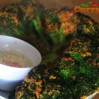 Garlic & Mustard Roast Broccoli