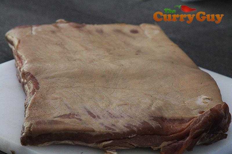 Making Goan Sausage