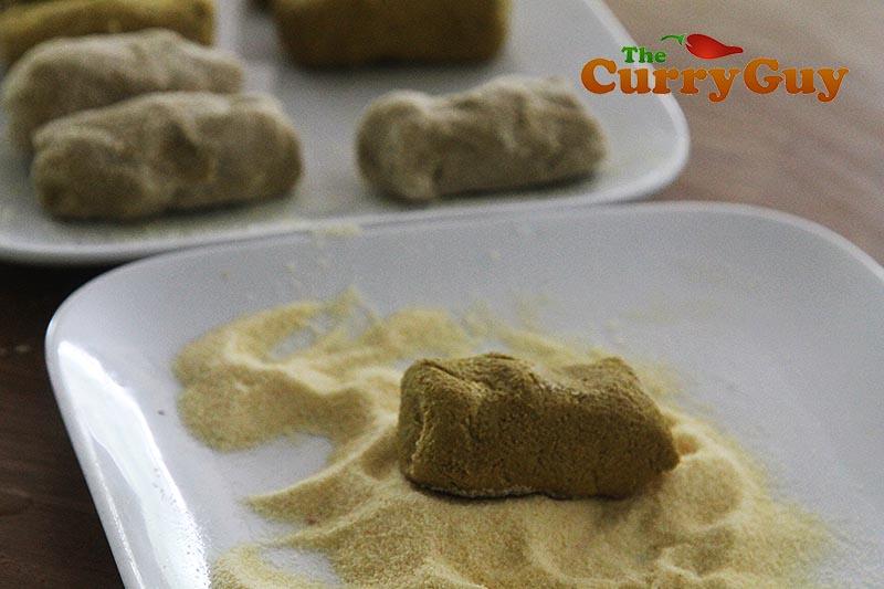 Making Goan beef croquettes