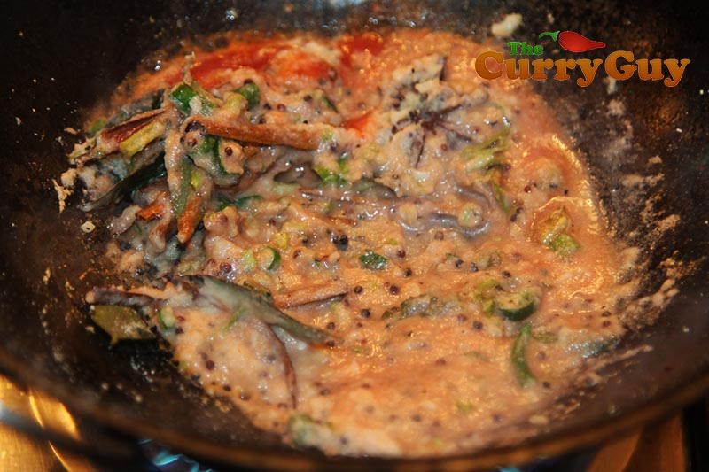 Making Chicken Ceylon
