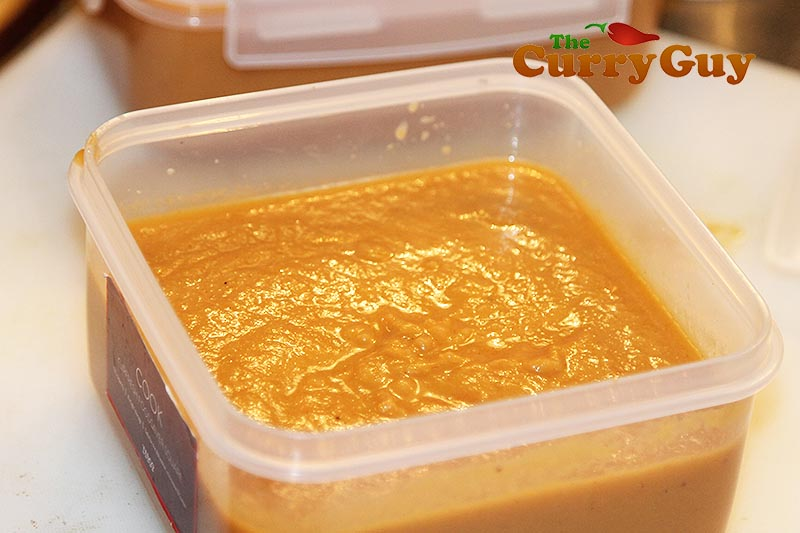 Low fat base curry sauce